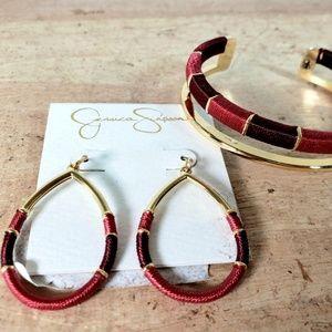 Jessica Simpson bracelet & earring set, NWT